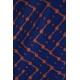 LuLaRoe Amelia (Large) Orange Blue Patterns