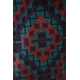 LuLaRoe Amelia (Medium) red, blue, purple patterns
