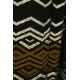 LuLaRoe Amelia (XL) Silver Gold on Black