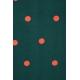 LuLaRoe Azure (XS) Green dots