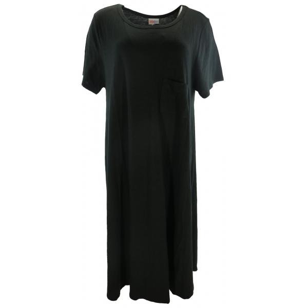 LuLaRoe Carly (3XL) Solid Black