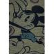 LuLaRoe Disney Carly (3XL) Mickey blue shorts on gray