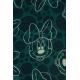 LuLaRoe Disney Carly (Small) White Minnie on Green