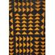 LuLaRoe Carly (Large) orange and blue patterns