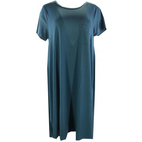 LuLaRoe Carly (Large) Solid  Blue 2