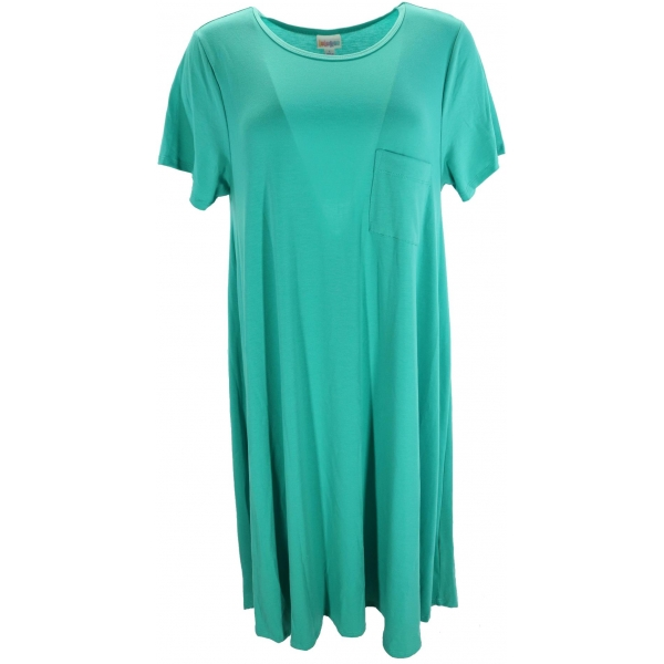 LuLaRoe Carly (Large) Solid Teal