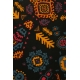 LuLaRoe Carly (Medium) Patterns on Black