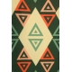 LuLaRoe Carly (Medium) Patterns Green