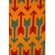 LuLaRoe Carly (Small) Orange arrows