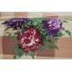 LuLaRoe Carly (Small) Flowers on patterns 2