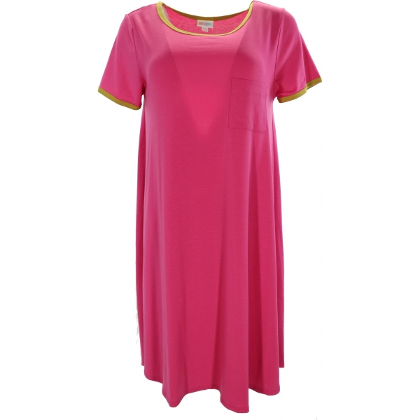 LuLaRoe Carly (Small) Solid Pink 2