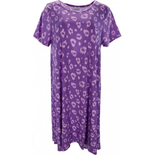 LuLaRoe Carly (XL) Patterns on Purple