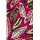 LuLaRoe Cassie (2XL) feathers on pink
