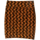 LuLaRoe Cassie (3XL) Orange and Black patterns