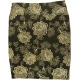 LuLaRoe Cassie (3XL) Flowers on Black