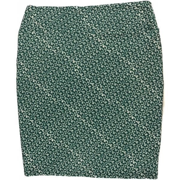 LuLaRoe Cassie (3XL) Green White Patterns