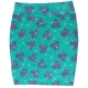 LuLaRoe Disney Cassie (2XL) Minnie on Purple Green