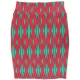 LuLaRoe Cassie (Large) Red and Green Patterns