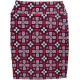 LuLaRoe Cassie (Large) Purple Red Patterns