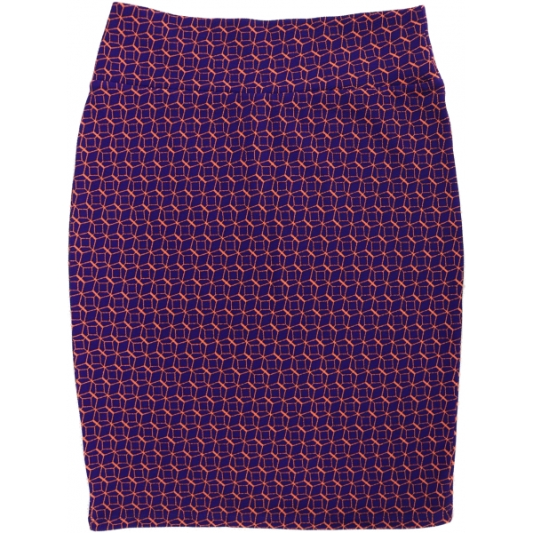LuLaRoe Cassie (Large) Purple and Pink Patterns