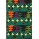 LuLaRoe Cassie (Medium) Multicolored Patterns on green