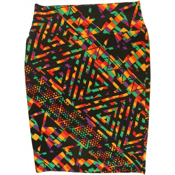 LuLaRoe Cassie (Medium) Multicolored Patterns 3