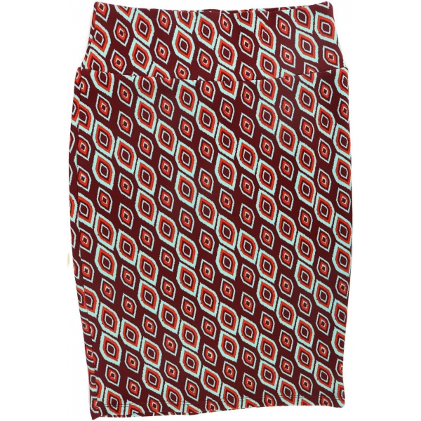 LuLaRoe Cassie (Small) Blue and red patterns