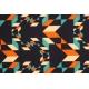 LuLaRoe Cassie (XL) Orange blue black patterns
