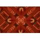 LuLaRoe Cassie (XS) Orange Patterns