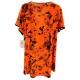 LuLaRoe ClassicT (3XL) Halloween orange birds