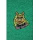 LuLaRoe Disney  ClassicT (Large) Miss Piggy on Green