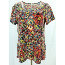 LuLaRoe Disney  ClassicT (Large) multi-colored Mickey Mouse