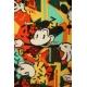 LuLaRoe Disney  ClassicT (Medium) Mickey on Mainly orange/red