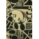 LuLaRoe Disney  ClassicT (Medium) Black White Mickey