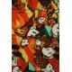 LuLaRoe Disney  ClassicT (Medium) Mickey on Orangeish