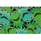 LuLaRoe Disney  ClassicT (Small) blue and green Kermit