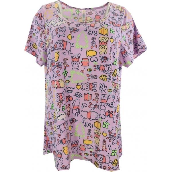 LuLaRoe Disney  ClassicT (XL) Winnie Pooh Purple