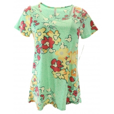 LuLaRoe Disney  ClassicT (XS) Flowers with Pooh Bear