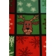 LuLaRoe ClassicT (Large) Santa Penguins on green
