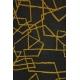 LuLaRoe ClassicT (Medium) blue with yellow lines