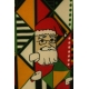 LuLaRoe ClassicT (Medium) Multicolored Santa