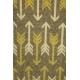 LuLaRoe ClassicT (Medium) Heatherned brown arrows