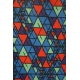 LuLaRoe ClassicT (Small) Triangles on Blue