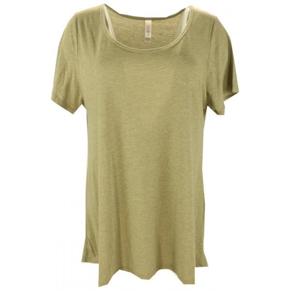 LuLaRoe ClassicT (XL) Solid Green
