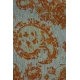 LuLaRoe ClassicT (XS) orange paisley on gray