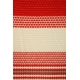 LuLaRoe Irma (2XS) stripes red and white