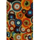 LuLaRoe Irma (2XS) multicolored circles