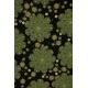 LuLaRoe Irma (2XS) Green patterns on black
