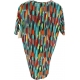 LuLaRoe Irma (2XS) Multicolored Patterns
