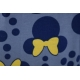 LuLaRoe Disney Irma (2XS) Minnie with yellow bow on blue